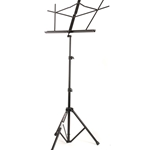 On-Stage Sheet Music Stand (Black, With Bag)